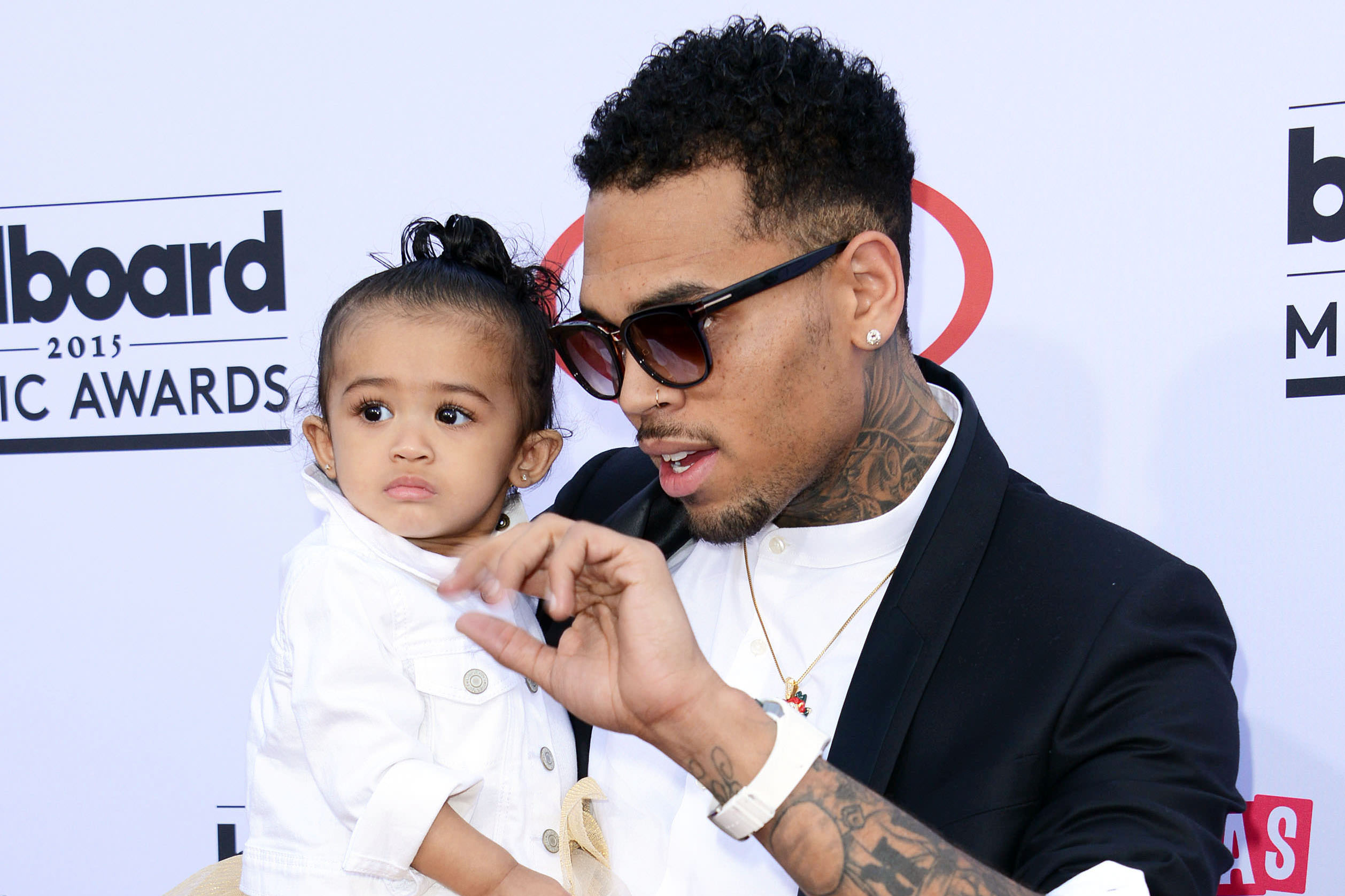 chris brown daughter - 1064×709