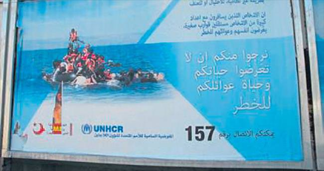 Mültecilere 'ölüme gitmeyin' çağrıları