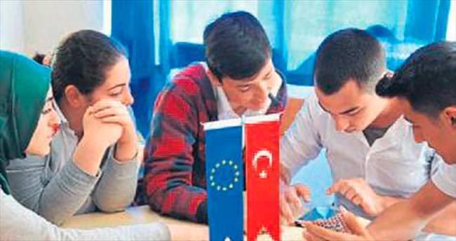 60 dakika içinde Avrupa'yı öğrendiler