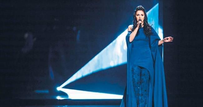 Eurovision'un galibi Cemile
