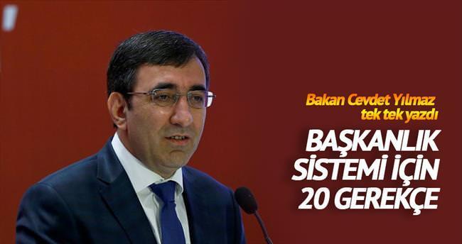 Güçlü Türkiye'ye güçlü sistem!