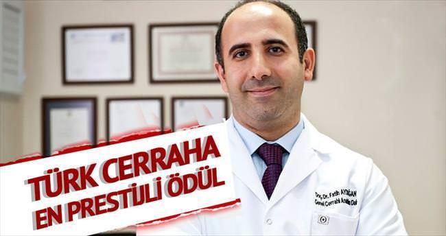 Türk cerraha ödül