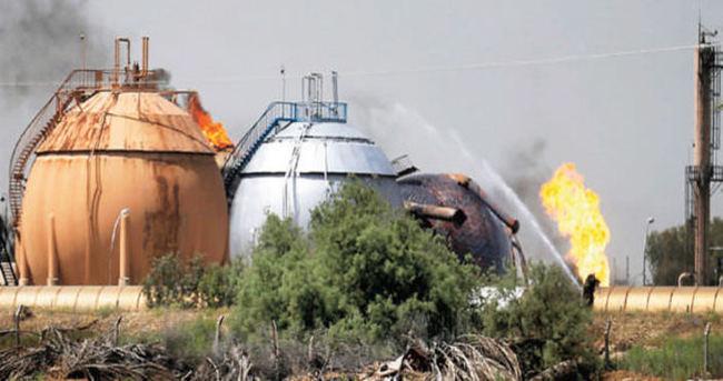 DAEŞ, gaz tesisine saldırdı