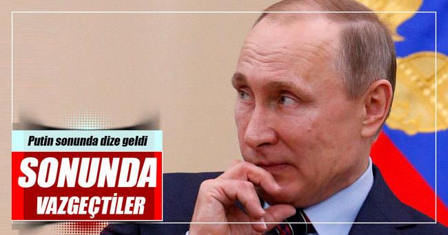 Rusya yasaktan vazgeçti