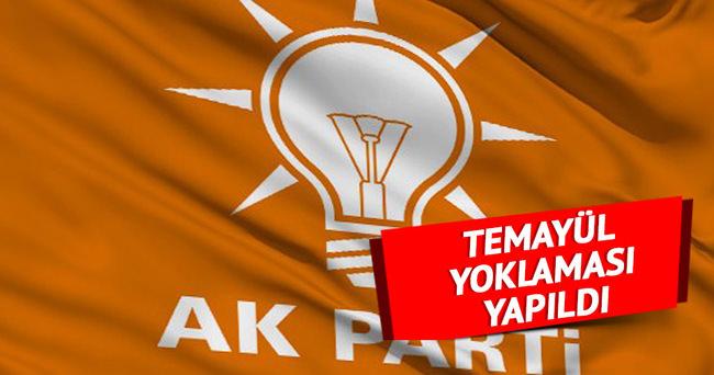AK Parti'de yeni genel başkan için temayül yoklaması yapıldı