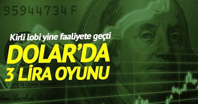Dolarda 3 lira oyunu