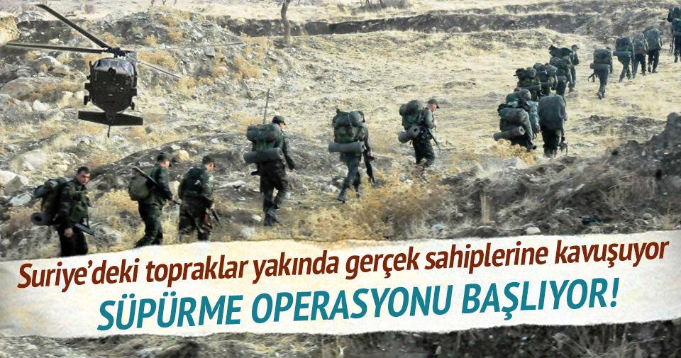 Türkiye'den Suriye'nin kuzeyine operasyon hazırlığı