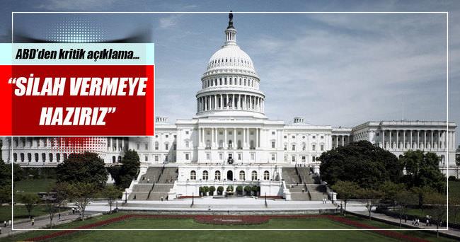 ABD: Libya'ya silah vermeye hazırız