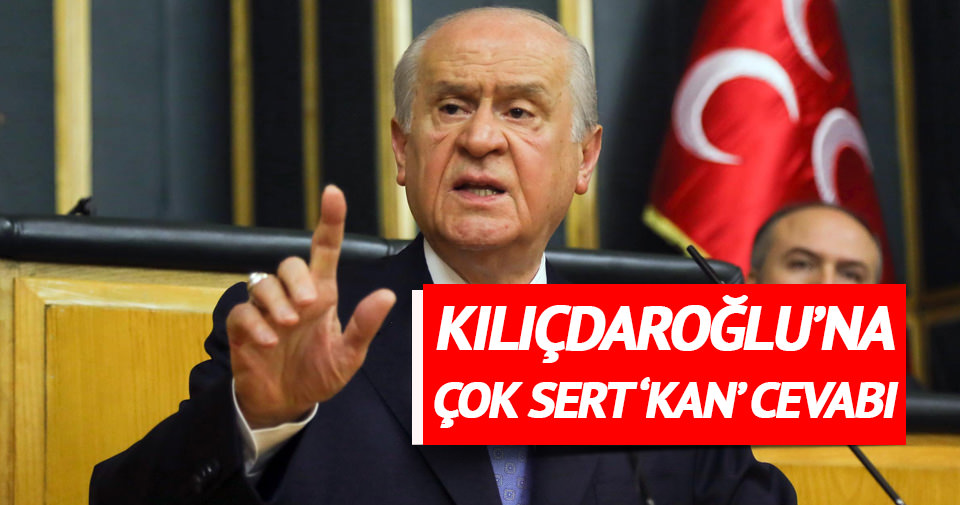 Bahçeli'den Kılıçdaroğlu'na 'kanlı tehdit' yanıtı