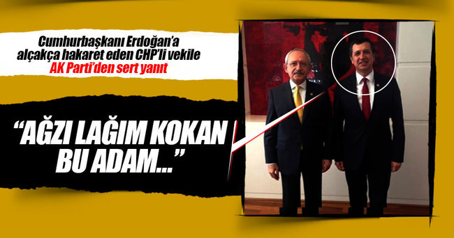 AK Partili vekilden CHP'li vekile sert yanıt