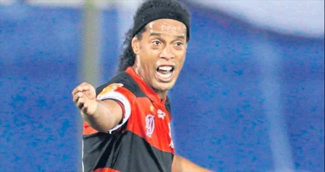 Ronaldinho da 'Tamam' dedi