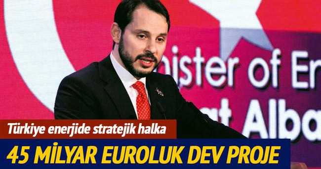 Türkiye enerjide stratejik halka