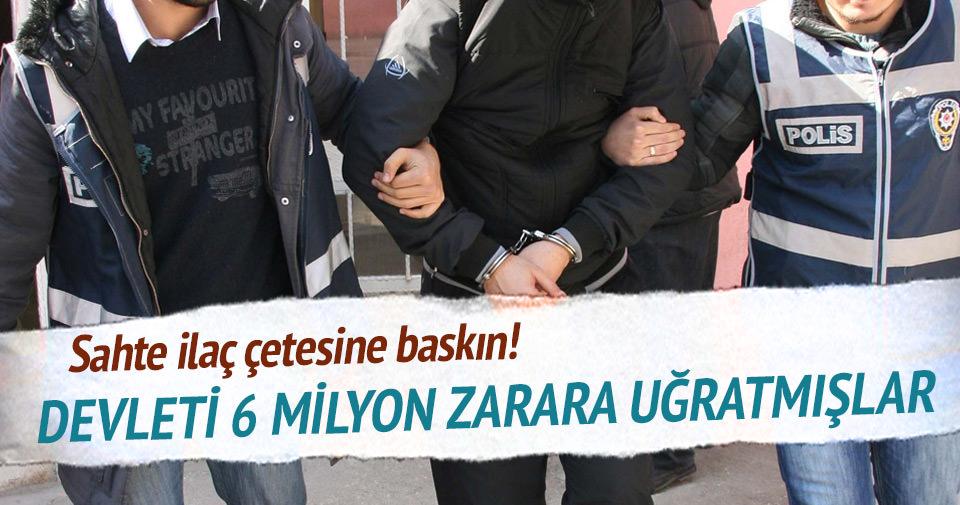İstanbul merkezli 7 ilde sahte reçete operasyonu