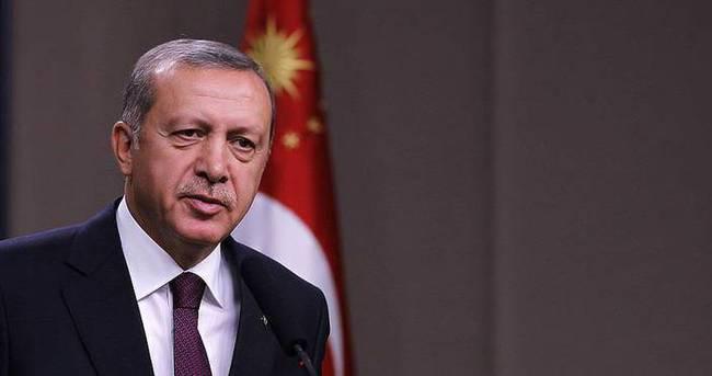 Cumhurbaşkanı Erdoğan şehit ailelerine başsağlığı diledi