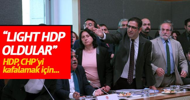 'HDP, CHP'yi kafalamak için vicdanlara oynadı'