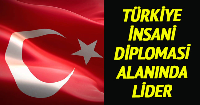 'Türkiye insani diplomasi alanında lider bir aktör'