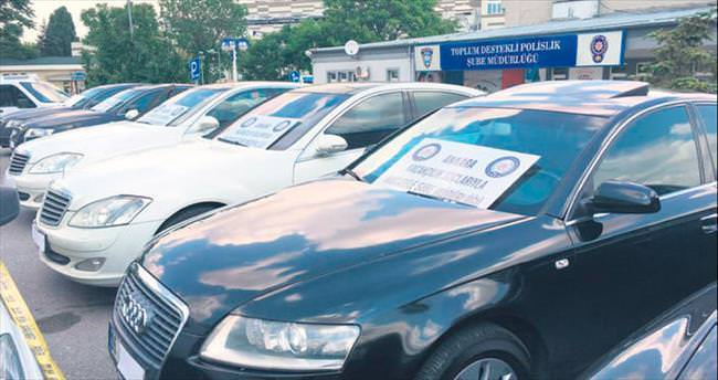 3 milyon euroluk lüks otomobil vurgunu