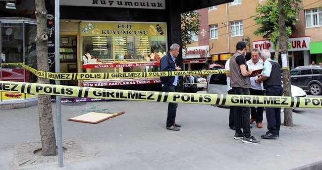 Gaziosmanpaşa'da silahlı soygun girişimi