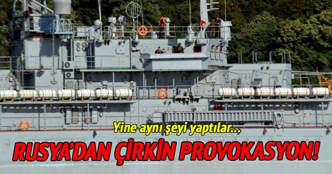 Rus gemisinde askerler yine sipere yattı!