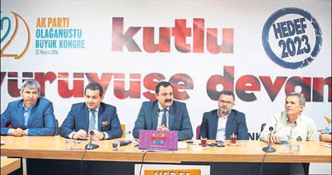 Antalya'dan destek mesajı