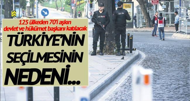 İstanbul'daki zirveye yoğun ilgi