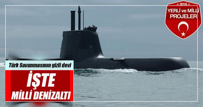 Türk savunmasının 'gizli' devi: Milli Denizaltı