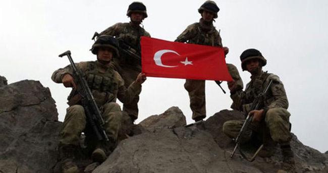 8 PKK'lı öldürüldü!