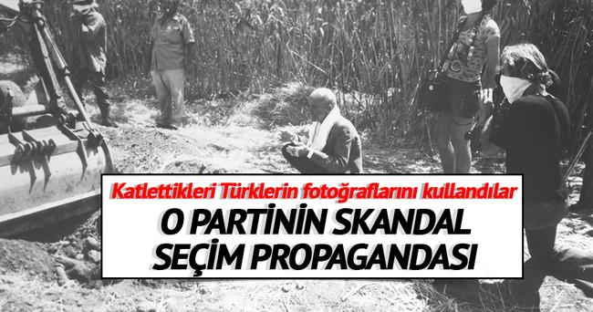 Güney Kıbrıs seçimlerinde skandal propaganda!
