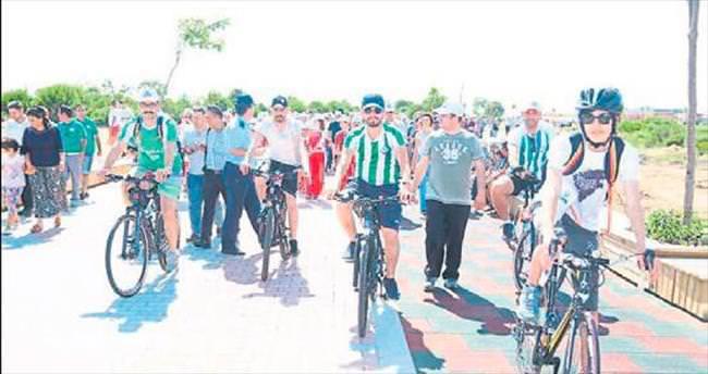 Serik'e yürüyüş ve bisiklet yolu