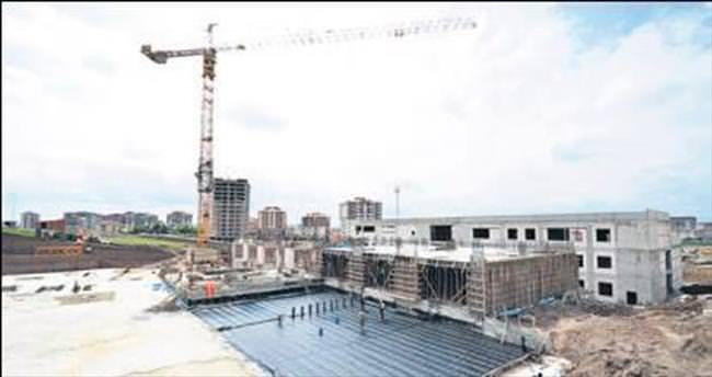 Devlet Hastanesi inşaatı hızla ilerliyor