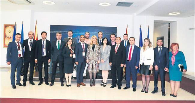 Genç işadamlarından Makedonya seyahati