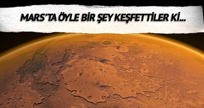 Mars yüzeyinde tsunami izleri
