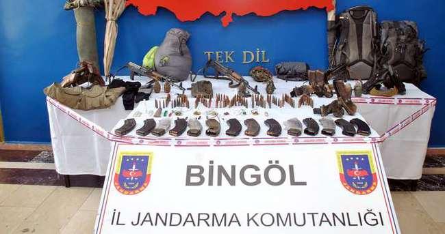 Bingöl'de 3 PKK'lı ölü ele geçirildi