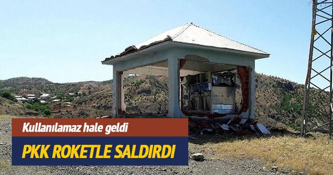 PKK Bingöl'de trafoya roketle saldırdı