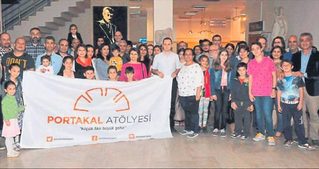 Portakal Atölyesi Antalya Müzesi'nde