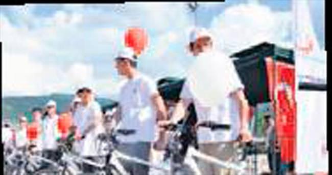 Bin 277 öğrenciye bisiklet dağıtıldı