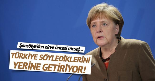 Merkel'den İnsani Yardım Zirvesi ile ilgili Türkiye mesajı