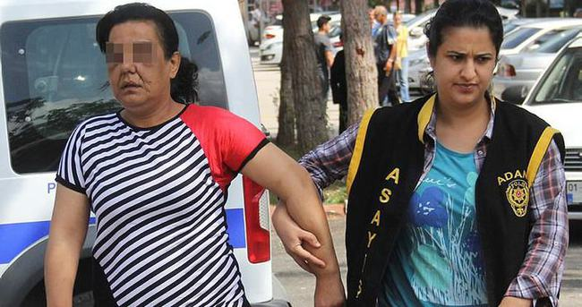 Adana'da fuhuştan yakalanan kadın polise beddua etti