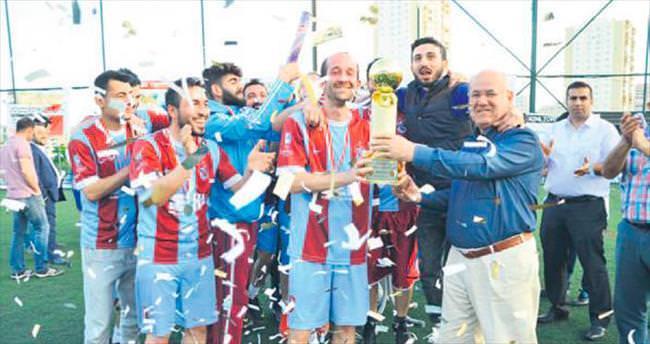 Matbaacılar Futbol Turnuvası sona erdi