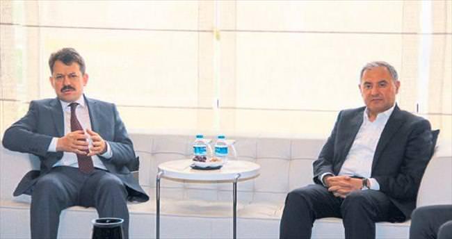 Başsavcı Yeldan'dan AOSB'ye ziyaret