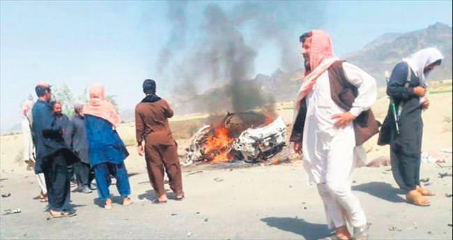 Taliban lideri Mansur nokta atışıyla vuruldu