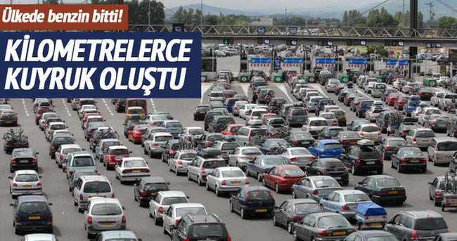 Fransa'da benzin krizi
