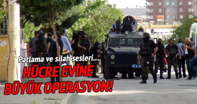 Gaziantep'te DAEŞ operasyonu!