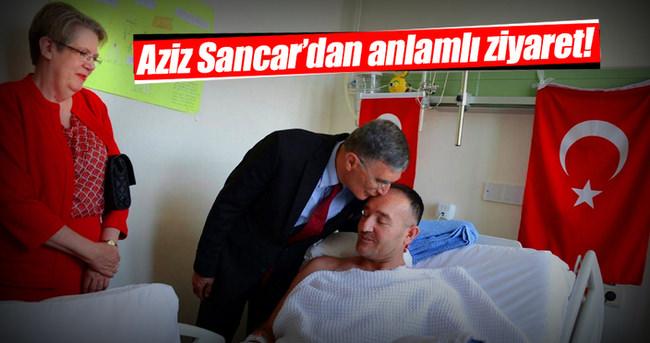Aziz Sancar'dan anlamlı ziyaret