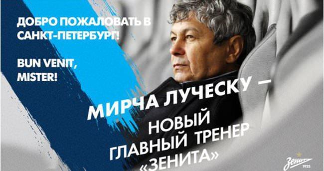 Lucescu resmen Zenit'te!