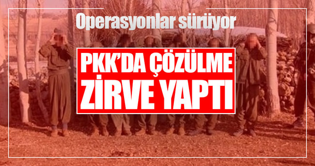 PKK'da çözülme zirve yaptı!