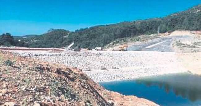 İkizce Barajı inşaatı sürüyor