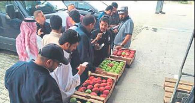Isparta elması için Ortadoğu tanıtımı
