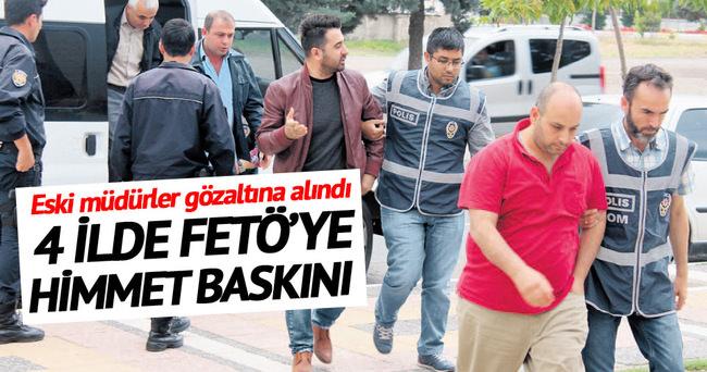 Dört ilde FETÖ'ye 'himmet' baskını 76 gözaltı