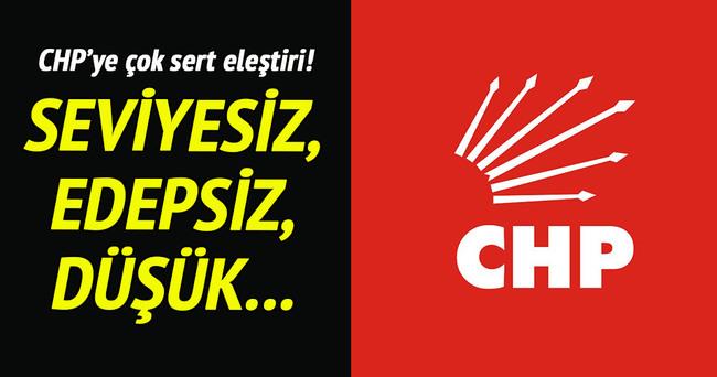 Kurtulmuş'tan CHP'ye çok sert eleştiri!